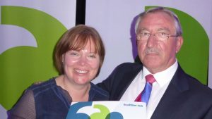 Julie Love and Paul Charnock from Healthwatch Isles of Scilly