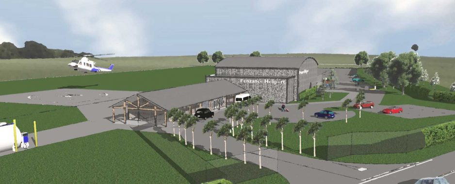 Plans For New Penzance Heliport Announced